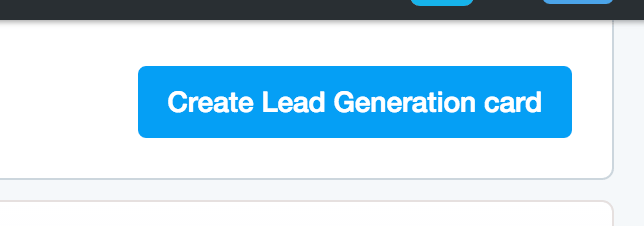 Create Lead Generation